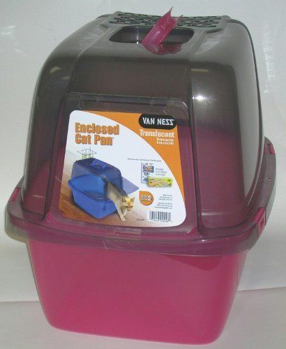 BND 225020 VAN NESS PLASTIC MOLDING  Enclosed Translucent Cat Pan CP6TR >>> Read more  at the image link. (This is an Amazon affiliate link and I receive a commission for the sales and I receive a commission for the sales)