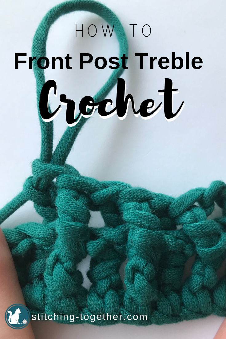 How To Front Post Treble Crochet And Back Post Treble Crochet Fptr And Bptr Tutorial Crochet Crochet For Beginners Crochet Edging