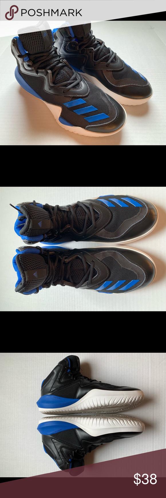new concept bc80b 0c946 Adidas Basketball Men s Crazy Team 2017 Shoe Adidas Basketball Men s Crazy  Team 2017 Basketball Shoe. Size 9.5 US. Color Black Blue-grey.
