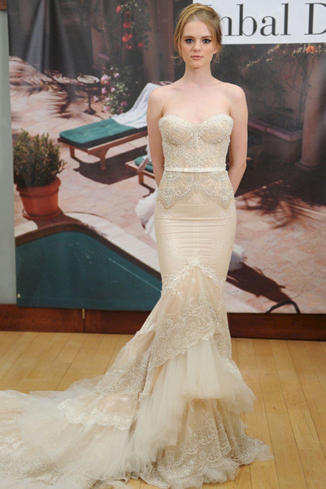 inbal dror wedding gown design for bridal looks more pretty