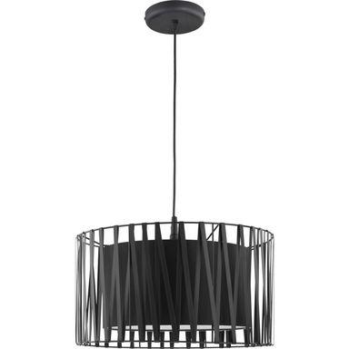 Lampa Wiszaca Harmony Czarna E27 Tk Lighting Zyrandole Lampy Wiszace I Sufitowe W Atrakcyjnej Cenie W Sklepach Lero Drum Pendant Glass Pendant Light Light