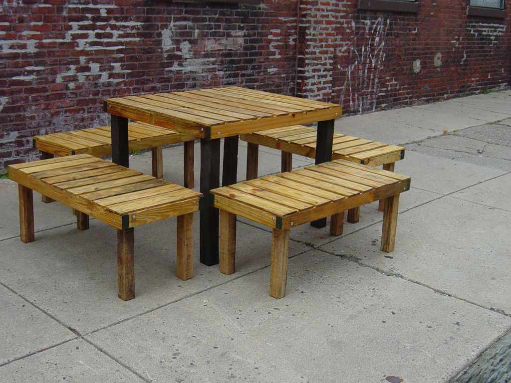 Rustic Picnic Table Wooden Tables Wood Benches Indoor Outdoor S Als