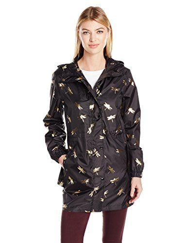 festival jacket PAC A MAC LADIES NAVY Kagool showerproof Size Medium