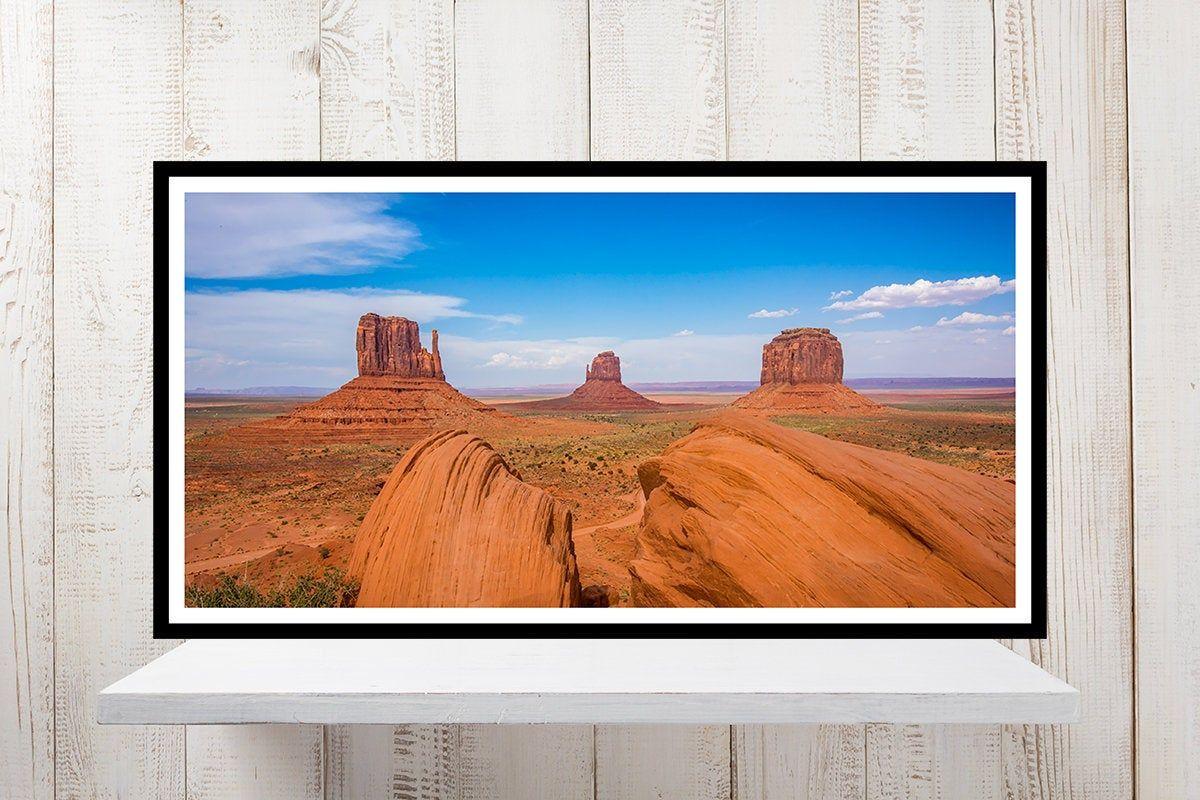 Monument Valley Landscape Photography Arizona Canyon Etsy Southwest Wall Art Panoramic Print Valley Landscape