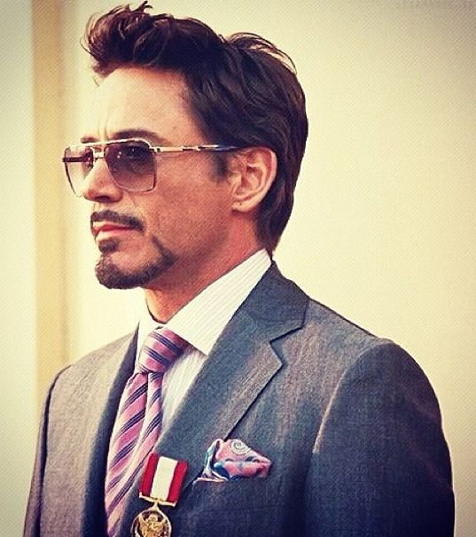 He looks gorgeous in this scene from Iron Man 2 #scenesfrommovies