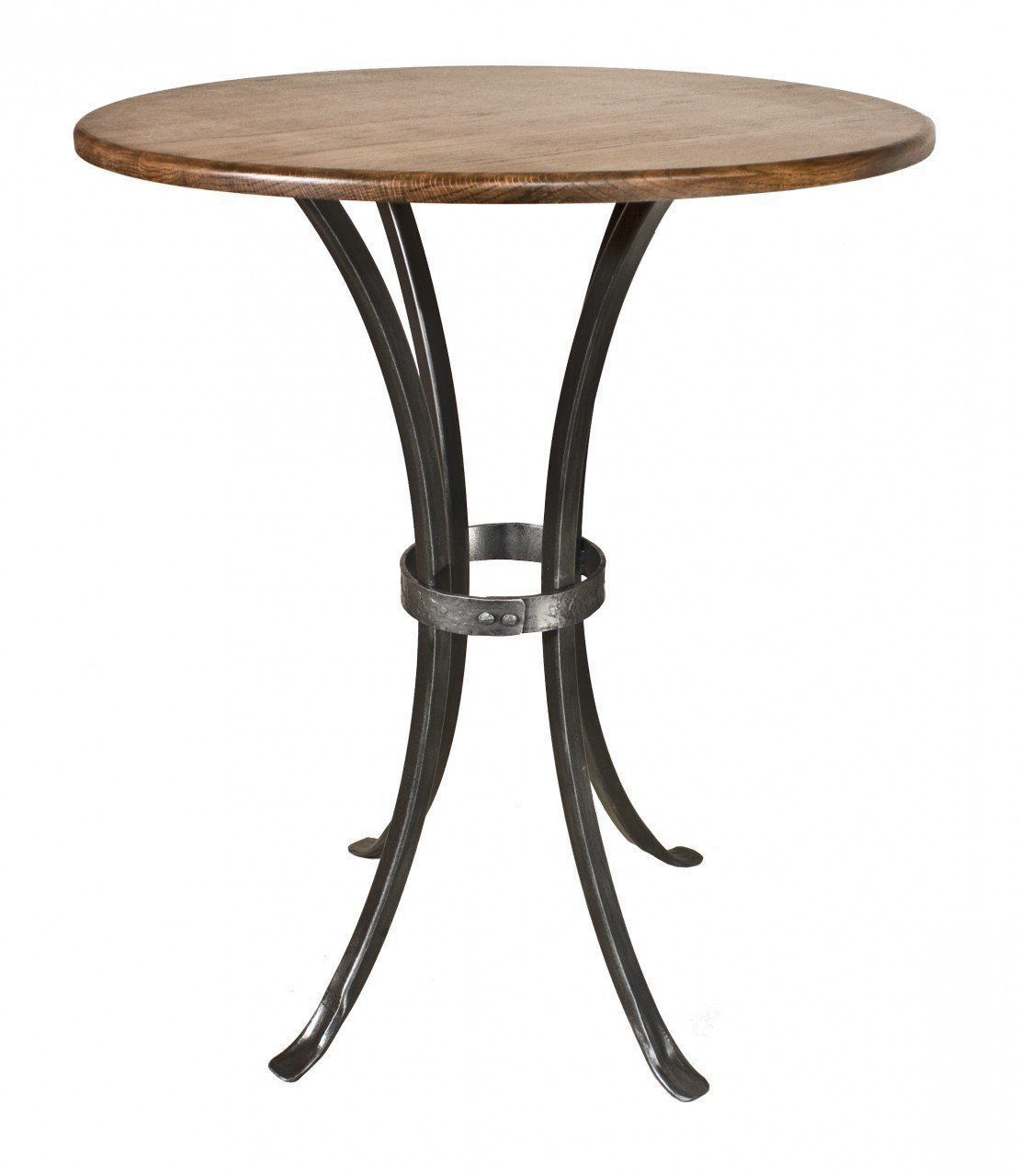 Gentil Stone County Ironworks 952 066 WAL Montage Bar Table (pewter Finish W/