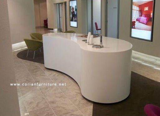 Modern salon reception desk google search salon for Solid salon
