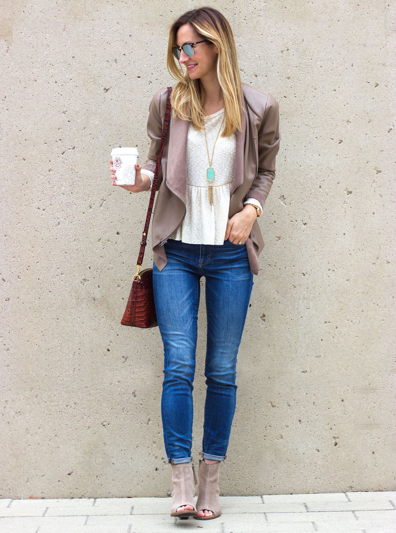 Street Style Tip Of The Day Skinny Jeans Amp Peep Toe