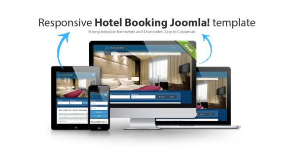 Luxury Hotel Booking Joomla template | Creative Designs - Typography ...