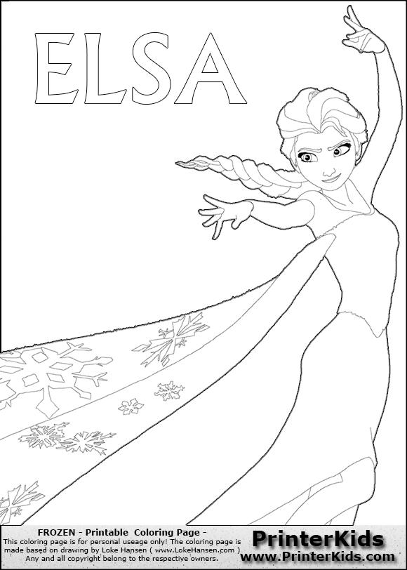 Disney Pixar Frozen Elsa Printable Coloring Book Sheet 13880 Malvorlagen Eiskonigin Disney Malvorlagen Malvorlagen