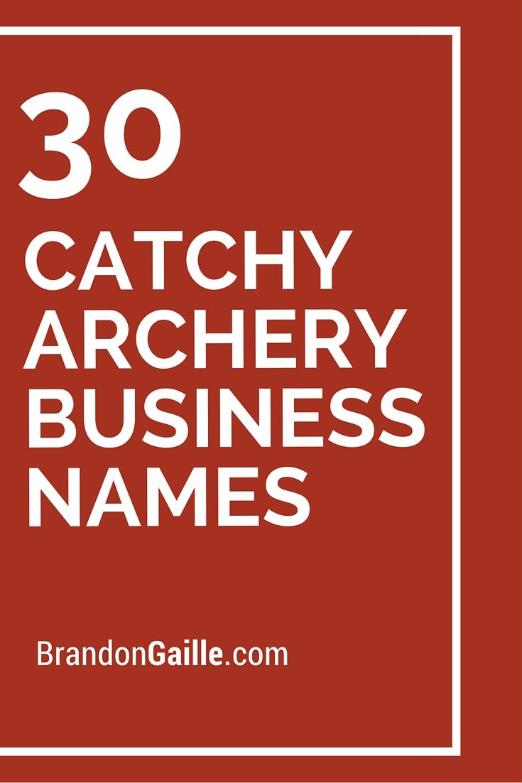 101 Catchy Archery Business Names Shop Name Ideas Pet Shop