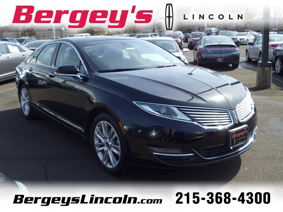 Cars For Sale Certified 2014 Lincoln Mkz Awd For Sale In Lansdale