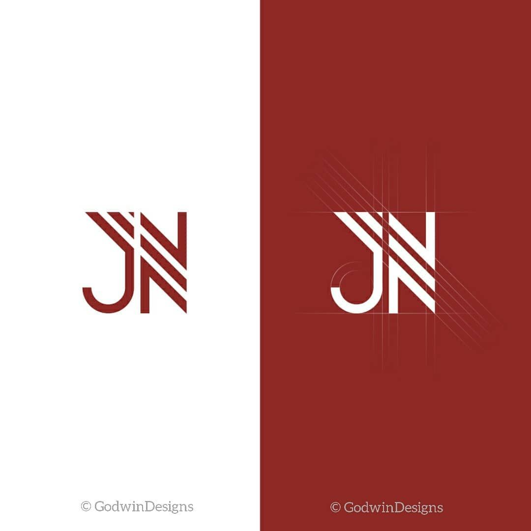 Typographic Logo Design For J N Productions Simpledesign Creativedesigns Godwindesigns Logodesign G Typographic Logo Design Typographic Logo Logo Design