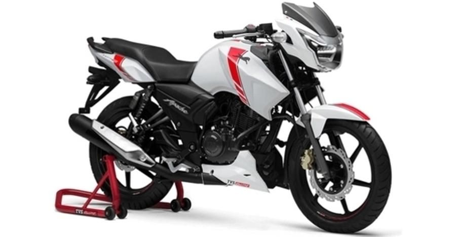 Tvs Apache Rtr 160 180 Supermoto Has Received Abs Rtr 200