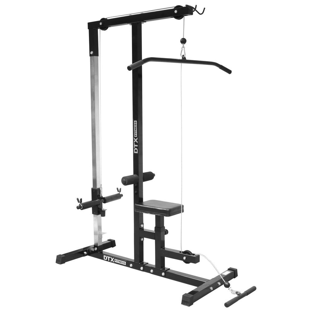 Details about dtx fitness home multi gym cablelat pull