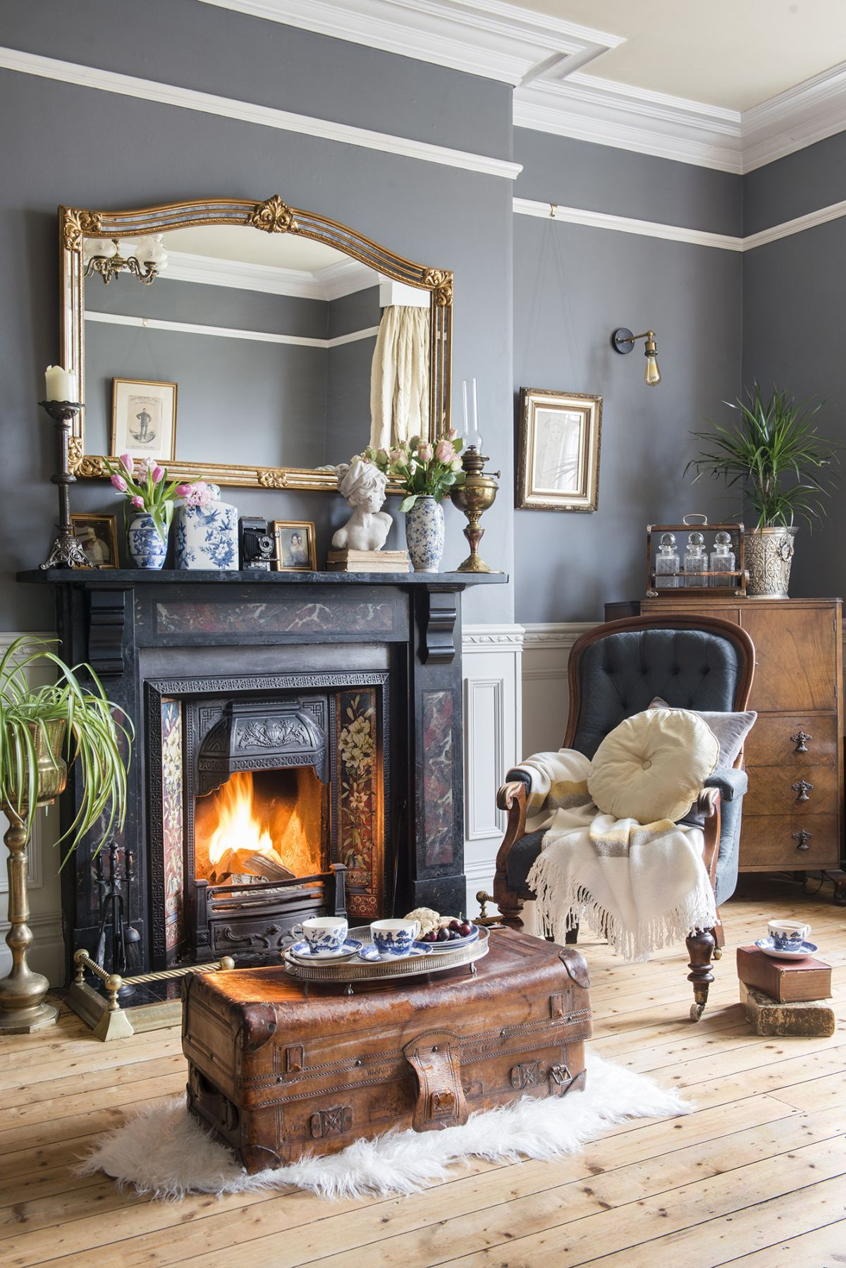 Photo of a renovated Victorian townhouse | Real Homes