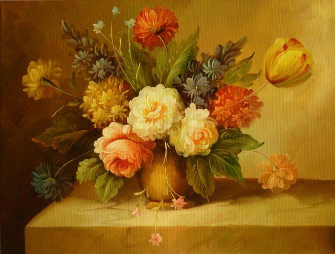 Pinturas de jarrones modernos cuadros de flores y - Ramos de flores modernos ...