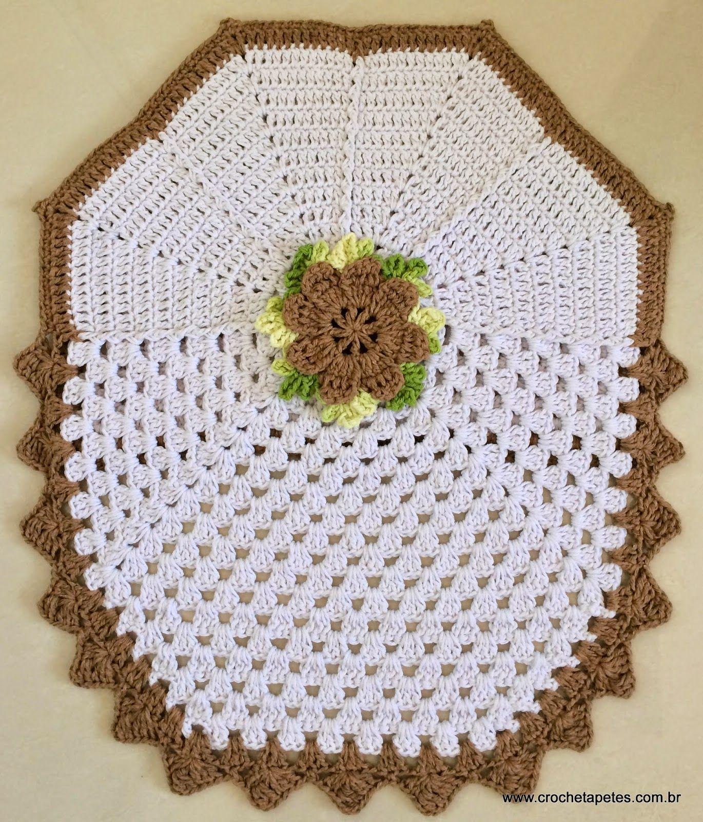 Encomenda pronta - Conjunto de tapetes para banheiro - Crochê