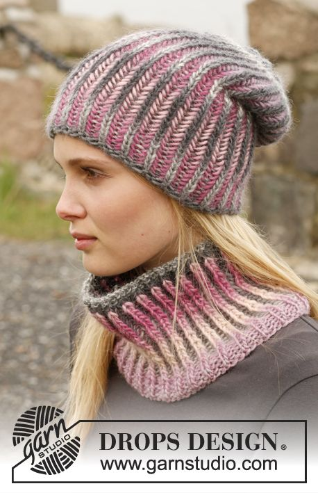 Phoenix Drops 151 24 Knitted Drops Hat And Neck Warmer With
