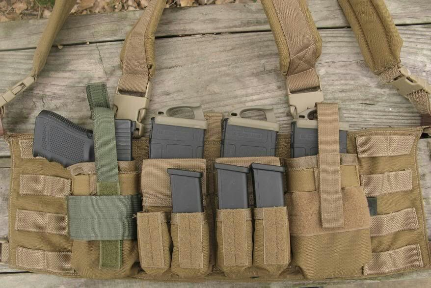 Glock chest rig