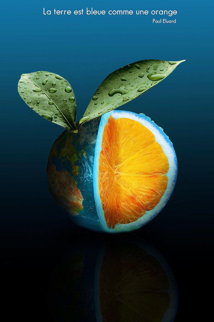 La Terre Est Bleue Comme Une Orange by Aste17 | Artist Aste17 ...