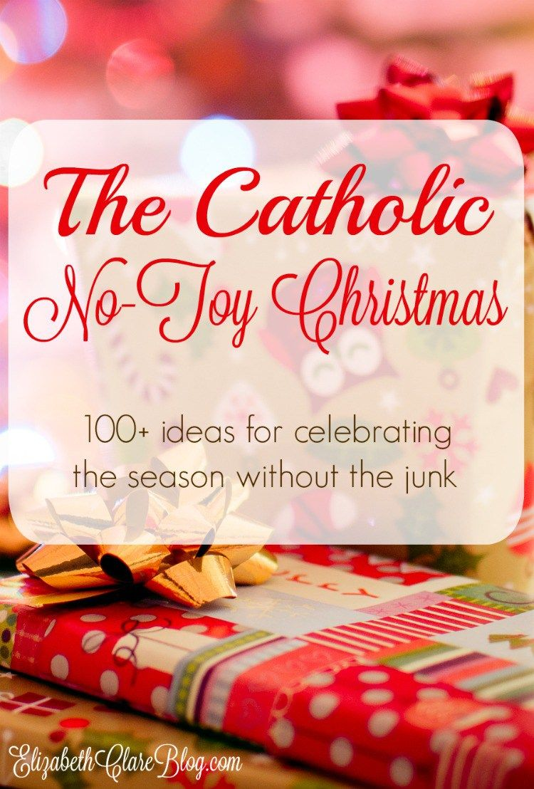 Ideas for celebrating christmas without gifts