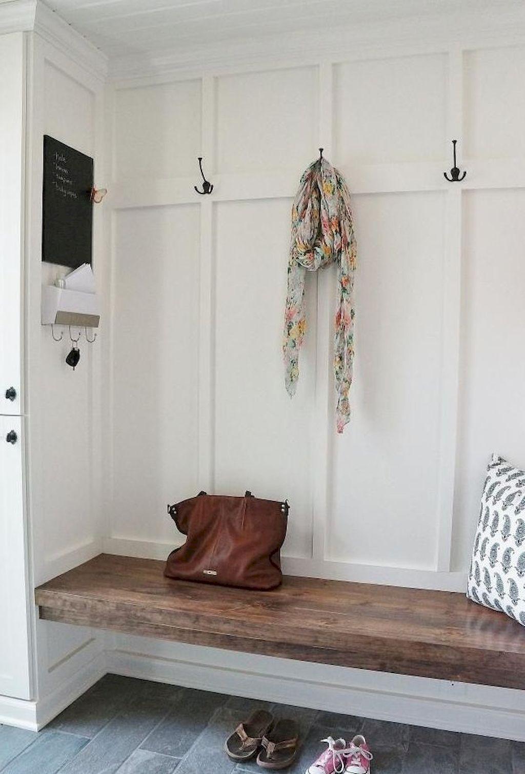 rustic farmhouse entryway decorating ideas Mud room