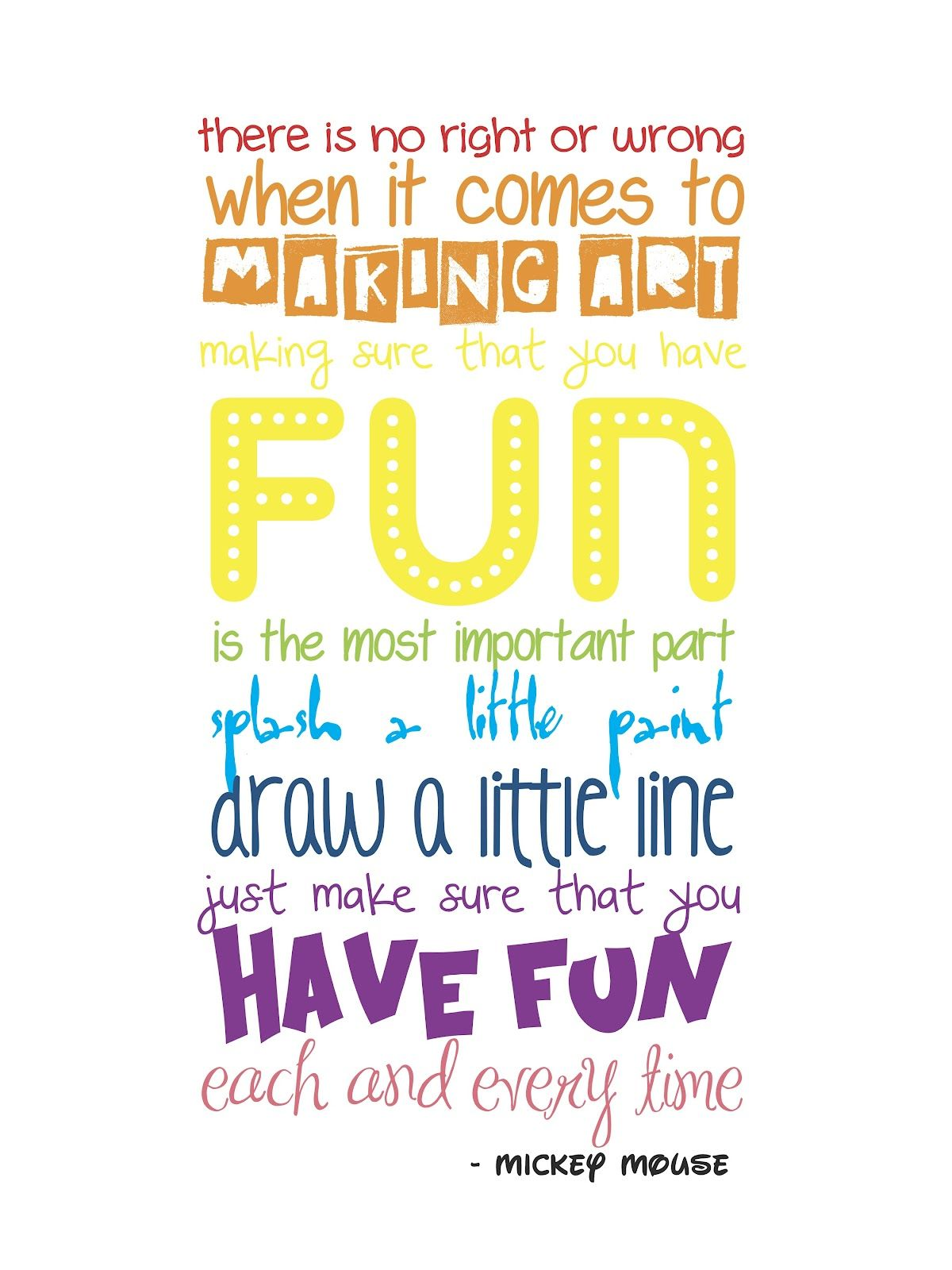 craft room wall quote - free printable | cute quotes | pinterest