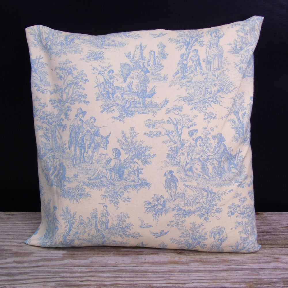 Decorative Pillow Sham Rustic Life Home Seasons Waverly Fabric Toile De Jouy Waverly Frenchc Decorative Pillow