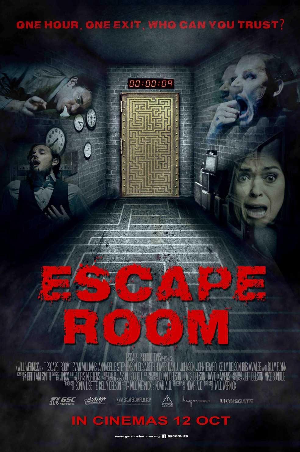 Escape Room new international poster > https//teaser
