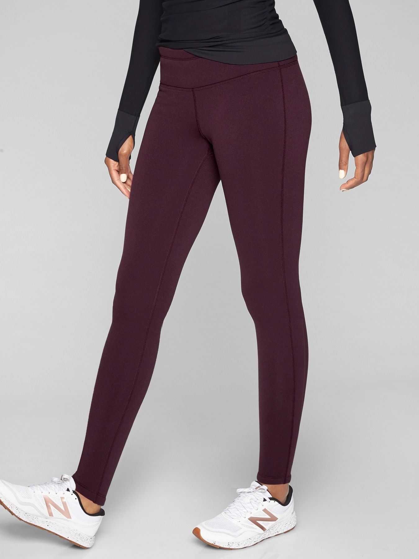 5157cf01bda19 Polartec® Power Stretch® Tight | Fit | Tight leggings, Maroon ...