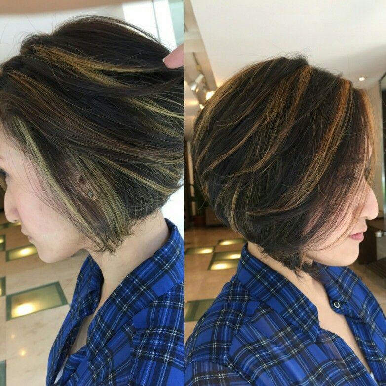 Hair Colour Style By Suhe Rogers Salon Spa Bandung