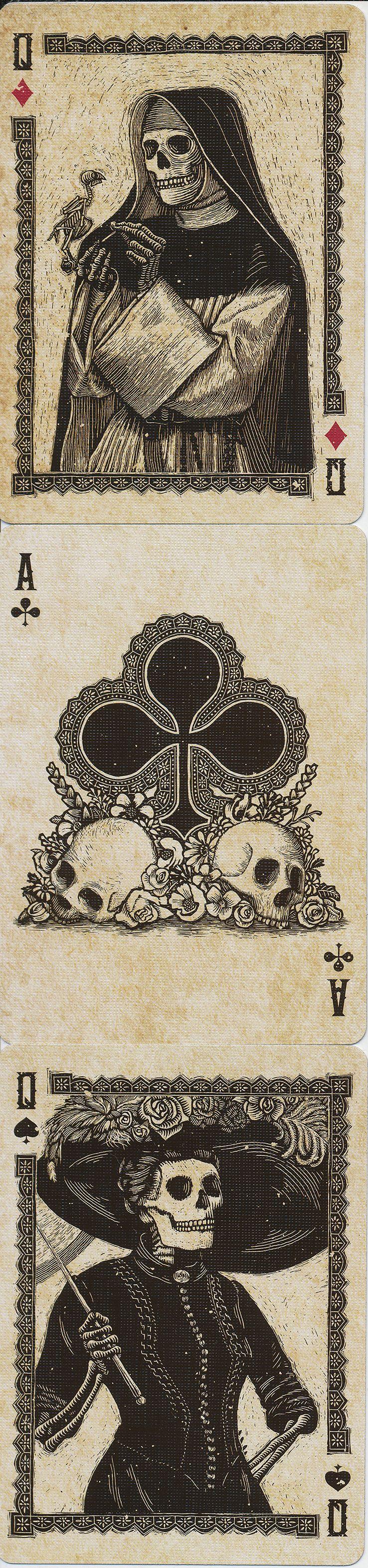 Dia de los Muertos - Calaveras Playing Cards