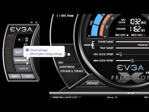 The next generation of overclocking software has arrived with EVGA Precision X. This software allows you to fine tune your graphics card, including GPU Clock speed, Memory Clock speed, Fan speed, voltage and much more. True enthusiasts know that there is only one choice when it comes to GeForce overclocking software; EVGA Precision X. Learn more...