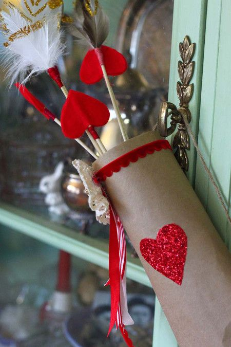 Photo of Cupid´s Cute Quiver – Basteln Ideen