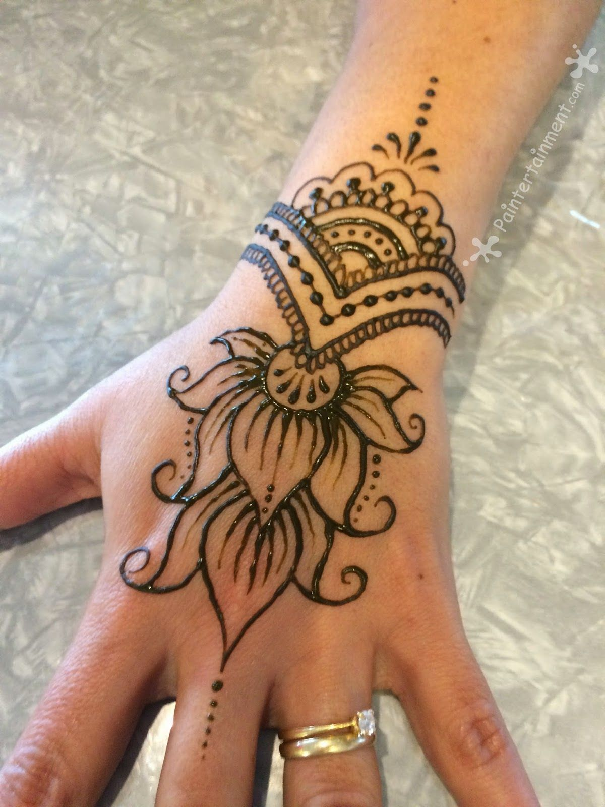 Simple Henna Tattoo Henna Tattoo: What I've Been Painting Lately...