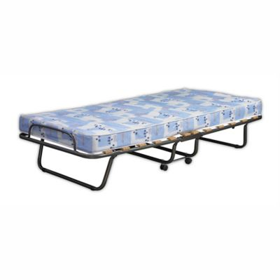 Roma Twin Folding Bed In Blue White In 2019 Folding Beds Roll