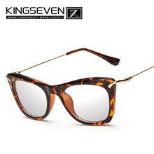 Kingseven 8 Colores Gafas Hombres Mujeres Retro Vendimia Anteojos Ópticos  Marco de Alta Calidad Gafas de grau Vidrios Miopes K7332(China (Mainland)) 716b7c48ec