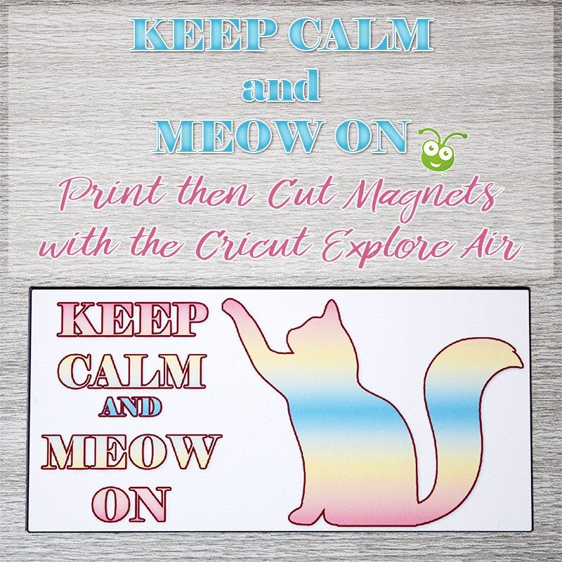 This is a picture of Rare Cricut Printable Magnet Sheets