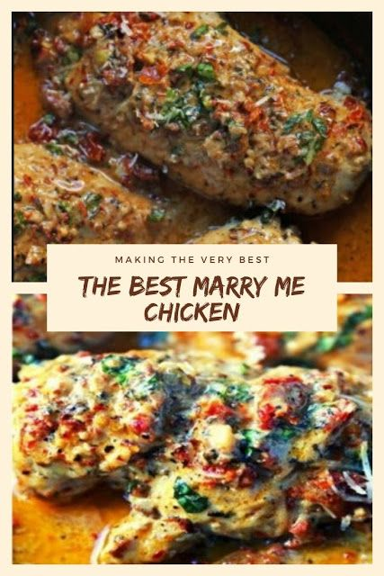 Family Recipes: The Best Marry Me Chicken Recipe #marrymechicken