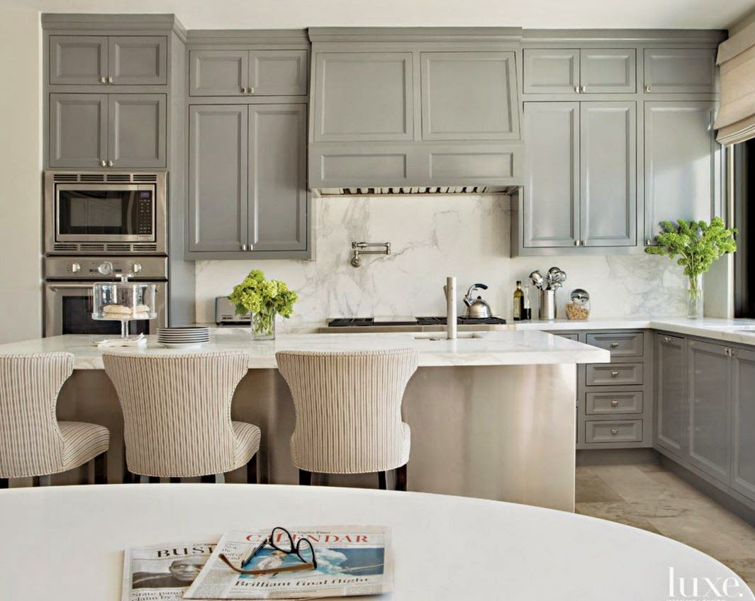 Kitchens With Painted Cabinetry Contemporary Kitchen Kitchen Inspiration Design Home Decor Kitchen