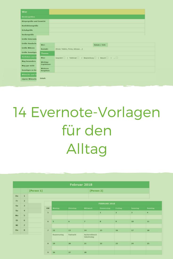 Ausgezeichnet Evernote Besprechung Minuten Vorlage Galerie ...
