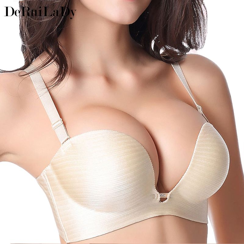 d80e4711d Fashion Women Bra Sexy Lingerie Half Cup Womens Bras Super Push Up Bra C Cup  Seamless Bras For Women Bralette Sutian Like if you are Excited! Get it here