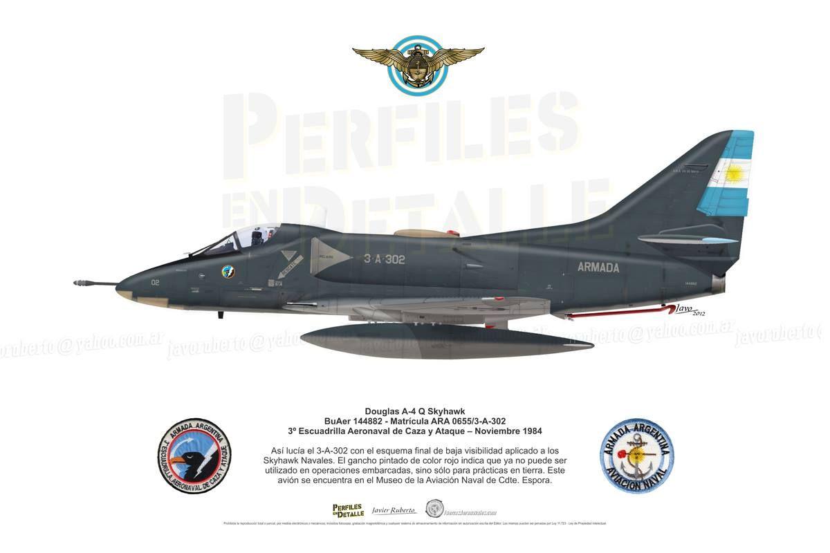 Douglas A4-Q Skyhawk | Avia. Schemes and profiles | Pinterest | A4 ...