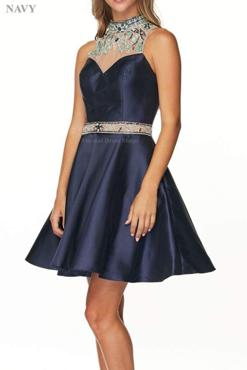 Flirty Cocktail Dress Satin Cocktail Dress Cocktail Dress Sweet 16 Dresses Short [ 1280 x 853 Pixel ]