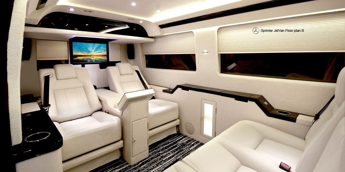 Mercedes Benz Sprinter Jetvan Luxury Van Benz Sprinter Luxury Cars