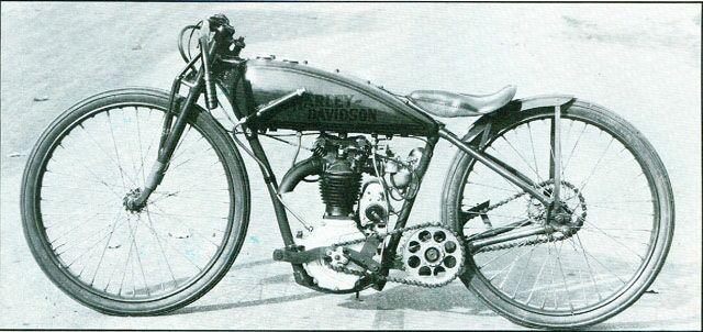 Harley Davidson Peashooter Racer