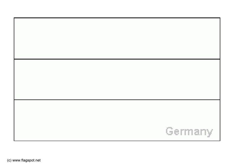 Coloring Page Flag Germany Germany Coloring Pages Germany Flag