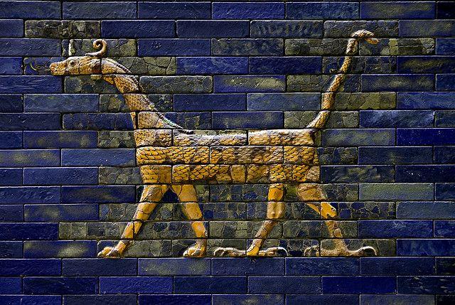 Pergamon Museum Ishtar Gate Dsc17916 Ancient Babylon Ancient Art Ancient Mesopotamia