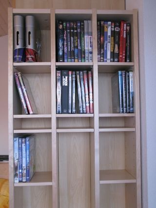 Improved Ikea Benno CD Shelf